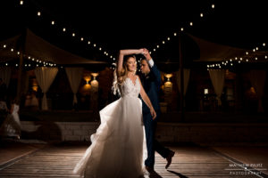 Courtyard Bridal couple