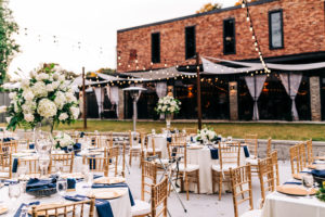 The Rutherford | Outdoor Wedding Reception