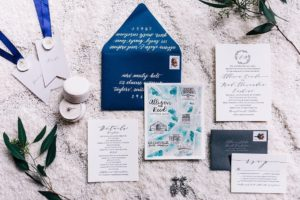The Rutherford | Wedding Invitations