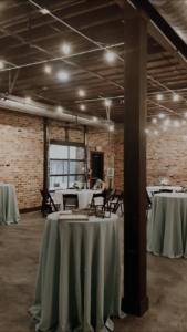 reception, wedding, brick